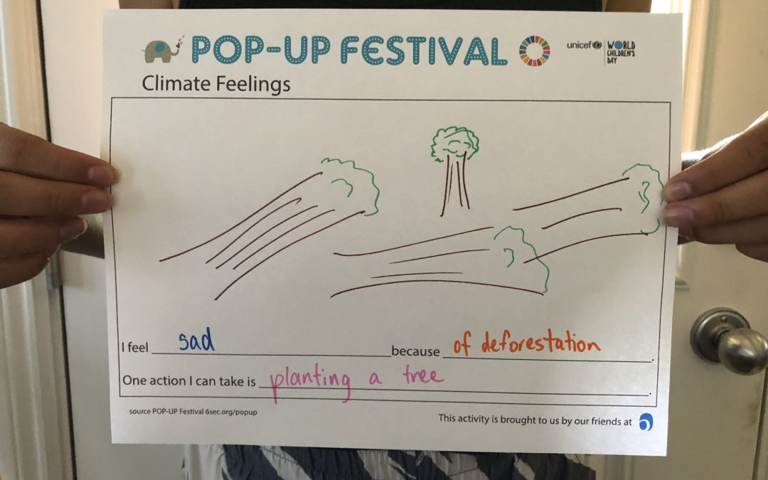 Climate Feelings Poster